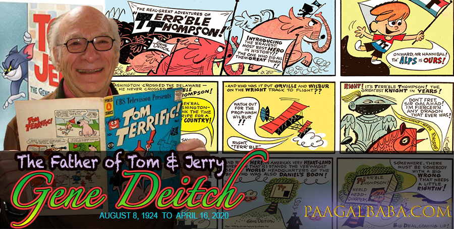 Gene Deich : The Father of Tom & Jerry